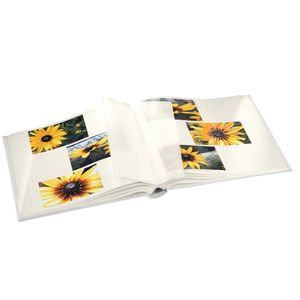 Hama - 2522 Jumbo-Album Blossom, 30x30 cm, 80 weiße Seiten, Blau