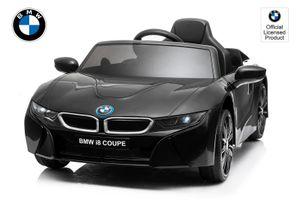 BMW Lizenz Kinder Elektro Auto BMW i8 2x35W Schwarz