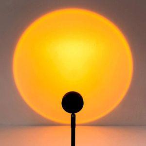 Hauptdekoration Sonnenuntergang Regenbogen Projektion moderne Tischlampe Wohnzimmer Schlafzimmer Nacht Atmosphäre Atmosphäre Dekoration LED Nachtlicht