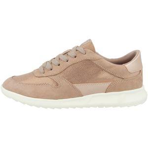 Tamaris Damen Sneaker Halbschuhe Schnürung 1-23625-26, Größe:41 EU, Farbe:Rosa