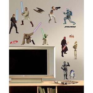 Wandsticker Star Wars Episode 1-3