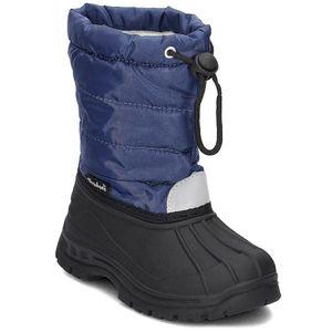 Playshoes Winter-Bootie, in marine, Größe 32/33