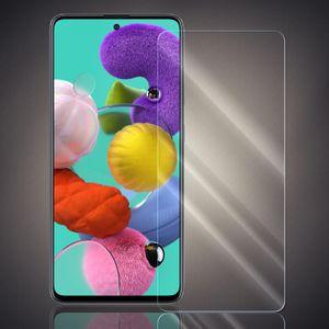 Panzer Folie für Samsung Galaxy A51 Echt Glas Display Schutz Folie Glasfolie 9H Härtegrad Schutzglasfolie