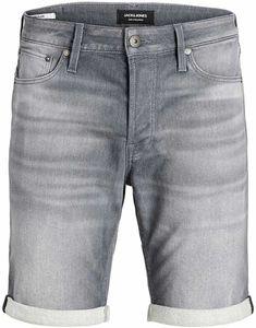 Jack & Jones JJIRICK Regular fit kurze Jeans grau, Gr. XXL