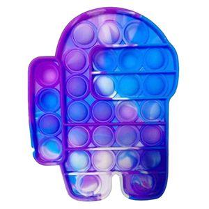 Push Pop It Pop Bubble Spielzeug,Verwendet für Autismus, Stress Abzubauen Braucht zappeln Spielzeug(Among Us I)