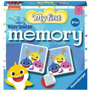 RAVENSBURGER Kinderspiel Baby Shark My first memory® Merk- und Suchspiel