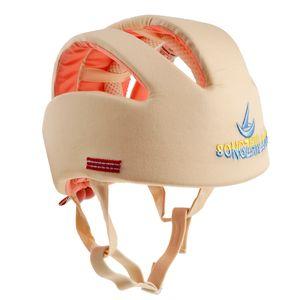 Kleinkind Baby Kopfschutz Helm Schutzhelm Babyhelm Helmmütze Kopfschutz Beige wie beschrieben