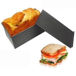 Nicht-Stick Brot Loaf Pan Mit Deckel Metall Toast Mold Küche Backformen