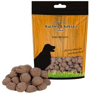 Lamm-Drops krümeln und fetten nicht, sind fett- und kalorienarm 500g Hundesnack