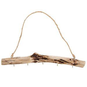 Vintage Holzhaken Dekorativer Schlüsselorganisator  Schlüsselhalter-Veranstalter