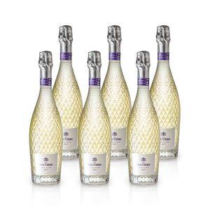 La Rouvière BLANC BRUT Schaumwein, Paket mit:6 Flaschen