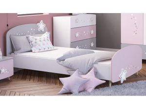 "Kinder-Bett Motivbett Einzelbett Mädchenbett Prinzessinnenbett ""Savannah I"""