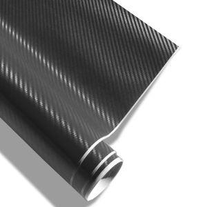 Auto Carbon Folie 3D Struktur schwarz Klebefolie selbstklebend 152x200 Neu
