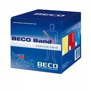 Beco Gymnastik- und Therapieband - Spenderbox, Zugkraft:mittel (rot)