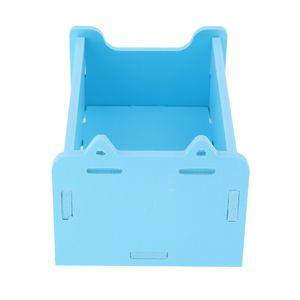 Kleine Tiere Hamster Sauna Sandbad Dusche Dusche Pool Blau 10x16 cm