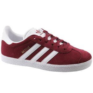 adidas Originals Gazelle Damen Sneaker Rot Schuhe, Größe:38 2/3