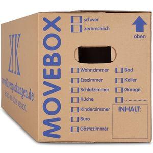 30 Umzugskartons 2-Wellig 40 Kg Movebox