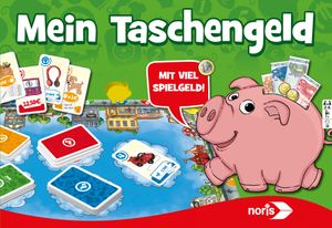 Noris Spiele Mein Taschengeld; 606011636
