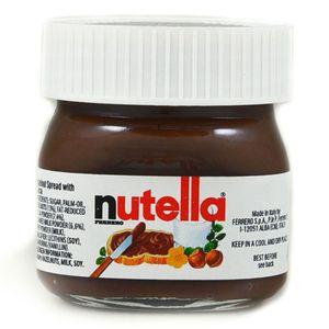 Nutella Miniglas Nuss Nougat Creme Brotaufstrich 25g 64er Pack