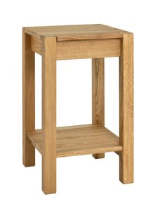 Haku Beistelltisch Massivholz, eiche geölt, Maße: 35 x 35 x 60cm, 30316