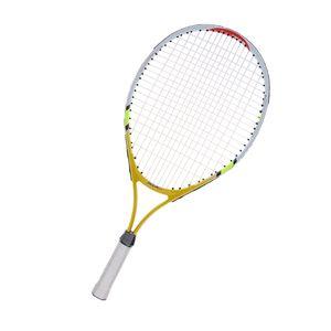 Aluminiumlegierung Kinder Junior Tennisschläger Training Racket Mit Tragetasche Gelb