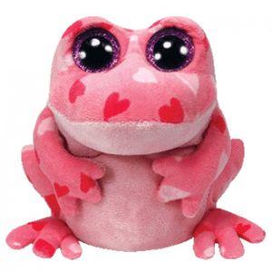 Smitten - Frosch pink mit Herz, 15cm