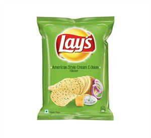 Lay`s - American Style Cream & Onion Flavour Riffle Chips 30g