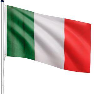 FLAGMASTER® Aluminium Fahnenmast Italien 6,50m