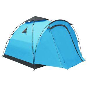Huicheng Pop-Up-Campingzelt 3 Personen Blau