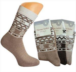 3 Paar Damen Thermo-Socken, Gr. 35/38