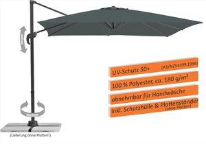 Schneider Sonnenschirm Rhodos Junior 270x270 cm anthrazit 786-15