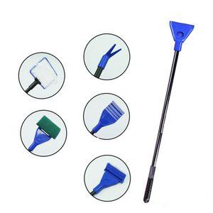 5 in 1 Multifunktions-Aquarium-Reinigungswerkzeug Aquarium-Reinigungsset[Blau]