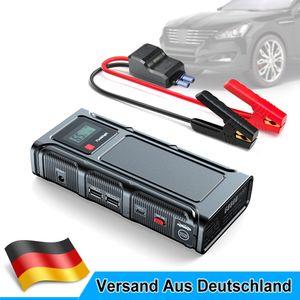 1000A Peak 18000mAh Auto KFZ Starthilfe Jump Starter Auoto Ladegerät Booster Powerbank Autobatteries