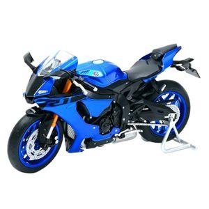 1:18 Yamaha YZF-R1 Blau Druckguss Fahrzeuge Sammeln Hobbies Motorrad Modell Spielzeug