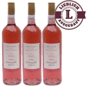 Rosé Rheinhessen Frühburgunder Weißherbst Weingut Becker lieblich (3 x 0,75l)