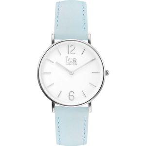 Ice-Watch Damen Armbanduhr City Pastel Small 015 762, Farbe:blau