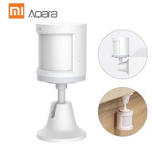 Aqara RTCGQ11LM Mijia Intelligenter Sensor fuer den menschlichen Koerper Sensor fuer Haustiere Home-Fernbedienung Infrarot-Wahrnehmung der menschlichen Bewegung