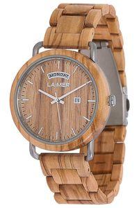 LAiMER Herren Analog Armbanduhr aus Holz - Modell 0111 Filippo