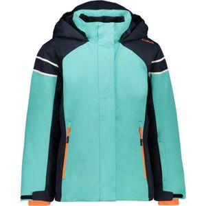 Cmp Girl Jacket Fix Hood E517 Acqua 152
