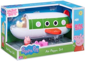 Flugzeug   Spielset   Peppa Wutz   Peppa Pig   mit Figur Peppa & Reisekoffer