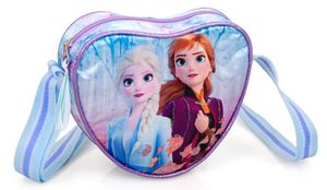 Frozen Anna Elsa Eiskönigin Herz Schultertasche Umhängetasche Tasche Handtasche