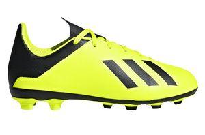 adidas X 18.4 FG JUNIOR Kinder Sneaker Gelb Schuhe, Größe:37