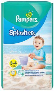 Pampers Schwimmwindeln Splashers Größe 3 - 4 Tragepack 12 Stück