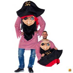 Mottoland Faschingskostüm Verrückter Pirat