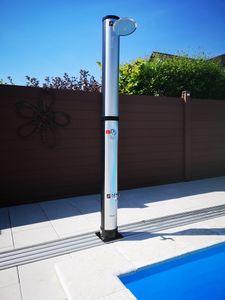 40L Solardusche CARIBIC LUXURY Pooldusche Außendusche Gartendusche Solar Dusche