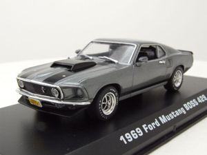 Ford Mustang Boss 429 1969 John Wick grau metallic Modellauto 1:43 Greenlight Collectibles
