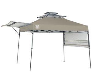 Quik Shade Faltpavillon 3x3 m Summit taupe inkl. Windauslass Gartenzelt Pavillon Gartenpavillon Strandpavillon