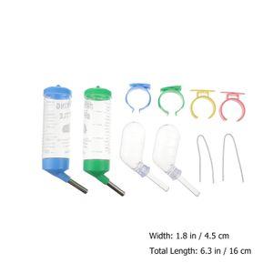 4 stücke Kleintier Wasserflasche Kein Tropfenhamster Igel Trinkflaschen