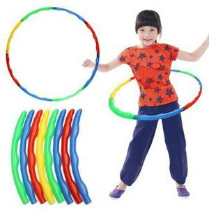 Abnehmbarer Kinder-Hula-Hoop Fitness-Fitnessstudio-Übungswerkzeug 65cm für Kinder