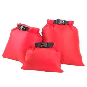 Set Von 3 Größen Wasserdichte Dry Bag Sack Camping Rafting Kajakfahren Farbe Orange